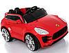 Детский электромобиль  Porsche Style TL 5988: 2.4G, EVA-колеса, кожа, 6 км/ч - КРАСНЫЙ-купить оптом