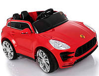 Детский электромобиль  Porsche Style TL 5988: 2.4G, EVA-колеса, кожа, 6 км/ч - КРАСНЫЙ-купить оптом , фото 1