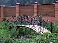 Кованый мостик - эксклюзивная ручная ковка