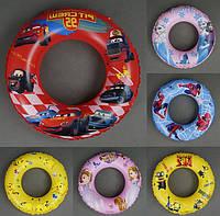 Надувной круг для купания 779-706 (6 видов) 60 см ОПТом