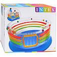 Детский игровой центр Intex 48264 батут надувной  Размеры: диаметр 182 см. Высота борта: 86 см., фото 3