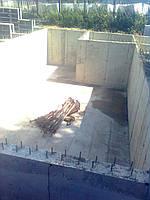 Заливка бетонных стен