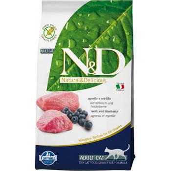 FARMINA N&D Grain Free Cat Lamb 5 кг