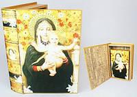 Шкатулка книга религиозная
