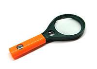 Лупа оптическая увеличительная средняя с компасом 65 мм