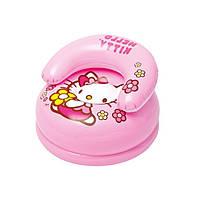 Детское надувное кресло Intex 48508 Hello Kitty, фото 1
