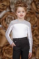 Шкільна блузка для дівчинки: 3628-1 146