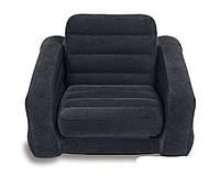Надувное велюровое раскладное кресло Intex 68565, фото 1
