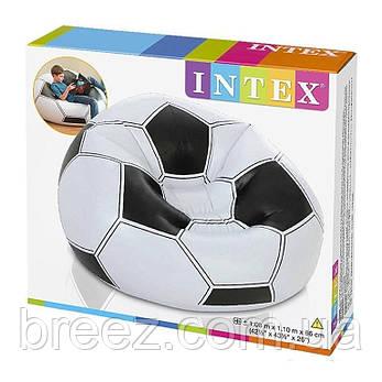 Надувное кресло Intex 68557 Футбольный мяч, фото 2