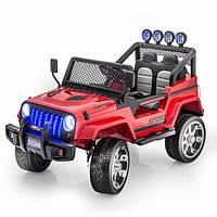 Детский электромобиль  JEEP WRANGLER: EVA, кожа- Красный (6778671485)-купить оптом , фото 1