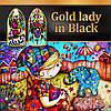 Набор гелей Gold Lady in Black Nika Nagel