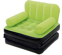 Надувное раскладное кресло Bestway 67277 салатовое, фото 1