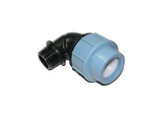 Отвод компрессионный с наружной резьбой 40*5/4 Unidelta