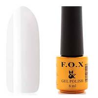 Гель-лак F.O.X  6 мл pigment №001 (белый)