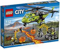 Конструктор Lego City Грузовой вертолёт исследователей вулканов
