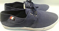 Кеды тапки слипоны р45 WONEX синий шнурок