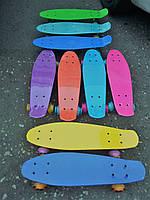 Пенниборд (EXPLORE) со светом колес, пенни, пенни борд (Penny board)