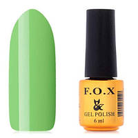Гель-лак F.O.X  6 мл pigment №007 (летний зеленый), фото 1