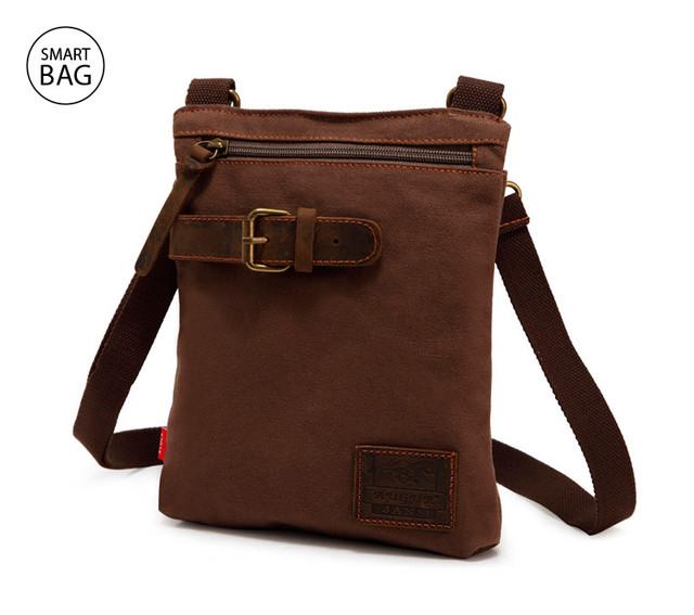 Мужская сумка через плечо Augur   коричневая
