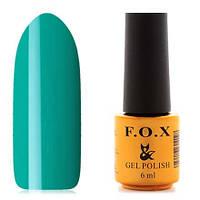 Гель-лак F.O.X  6 мл pigment №010 (зеленый), фото 1