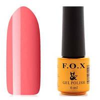 Гель-лак F.O.X  6 мл pigment №011 (розовый персик)