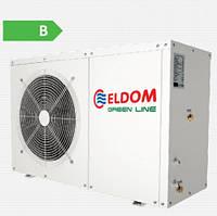 Тепловой насос Eldom 8 кВт с бойлером на 200 л. (нерж.)