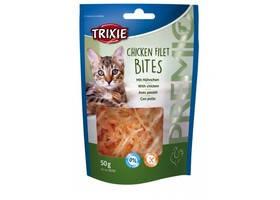 TRIXIE Premio Кусочки куриного филе для котов, 50г