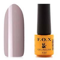 Гель-лак F.O.X  6 мл pigment №016 (молочно-серый), фото 1