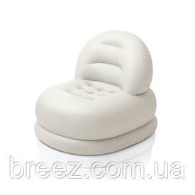 Детское надувное кресло Intex 68592 белое