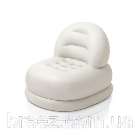 Детское надувное кресло Intex 68592 белое, фото 2