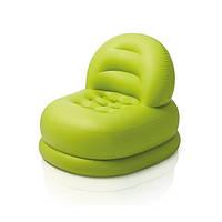 Детское надувное кресло Intex 68592 салатовое