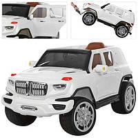 Детский электромобиль M 3276 EBRL-1: 2.4G, 90W, EVA, кожа - БЕЛЫЙ-купить оптом , фото 1