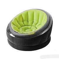Надувное кресло Intex 68582 зеленое, фото 1