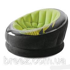 Надувное кресло Intex 68582 зеленое, фото 2