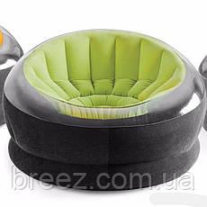 Надувное кресло Intex 68582 зеленое, фото 3