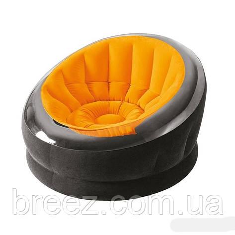 Надувное кресло Intex 68582 оранжевое, фото 2