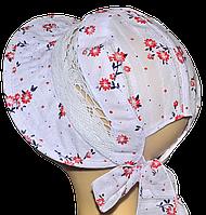 Шляпка Лиза принт Сакура
