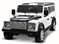 Детский электромобиль Land Rover: EVA , MP3, пульт 2,4 G - Белый (код: 6801372400)-купить оптом , фото 1