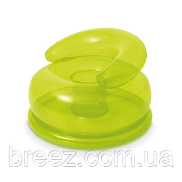 Надувное кресло Intex 48509 зеленое, фото 2