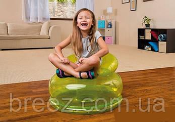 Надувное кресло Intex 48509 голубое, фото 2