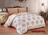 Евро макси набор постельного белья 200*220 из Сатина №013AB KRISPOL™