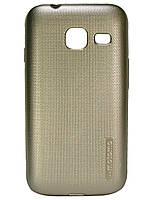 Силиконовый чехол Motomo для Samsung J105 Galaxy J1 Mini Золотой
