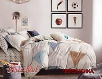 Евро макси набор постельного белья 200*220 из Сатина №134 KRISPOL™