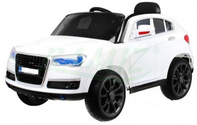 Детский электромобиль AUDI: EVA , MP3, пульт 2,4 G - Белый (код: 6763834920)-купить оптом