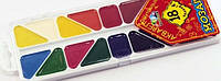 Краски акварельные Гамма 18цв пластик