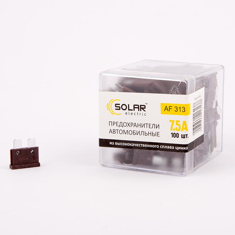 Набор предохранителей Solar AF313 (7,5А)