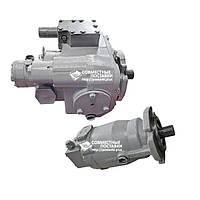 Объемный гидропривод (гидростатическая трансмиссия) ГСТ-90 - Гидромотор МП-90 + Гидронасос НП-90  Дон, Енисей