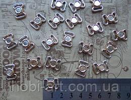 Пряжка для бантиків  № 05   1,6х1,2 см (10шт)