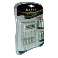 Зарядное устройство JB-Jiabao 212  + аккумуляторы микропальчик (4 штуки)