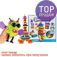 Конструктор липучка Bunchems 400 деталей / детские игры
